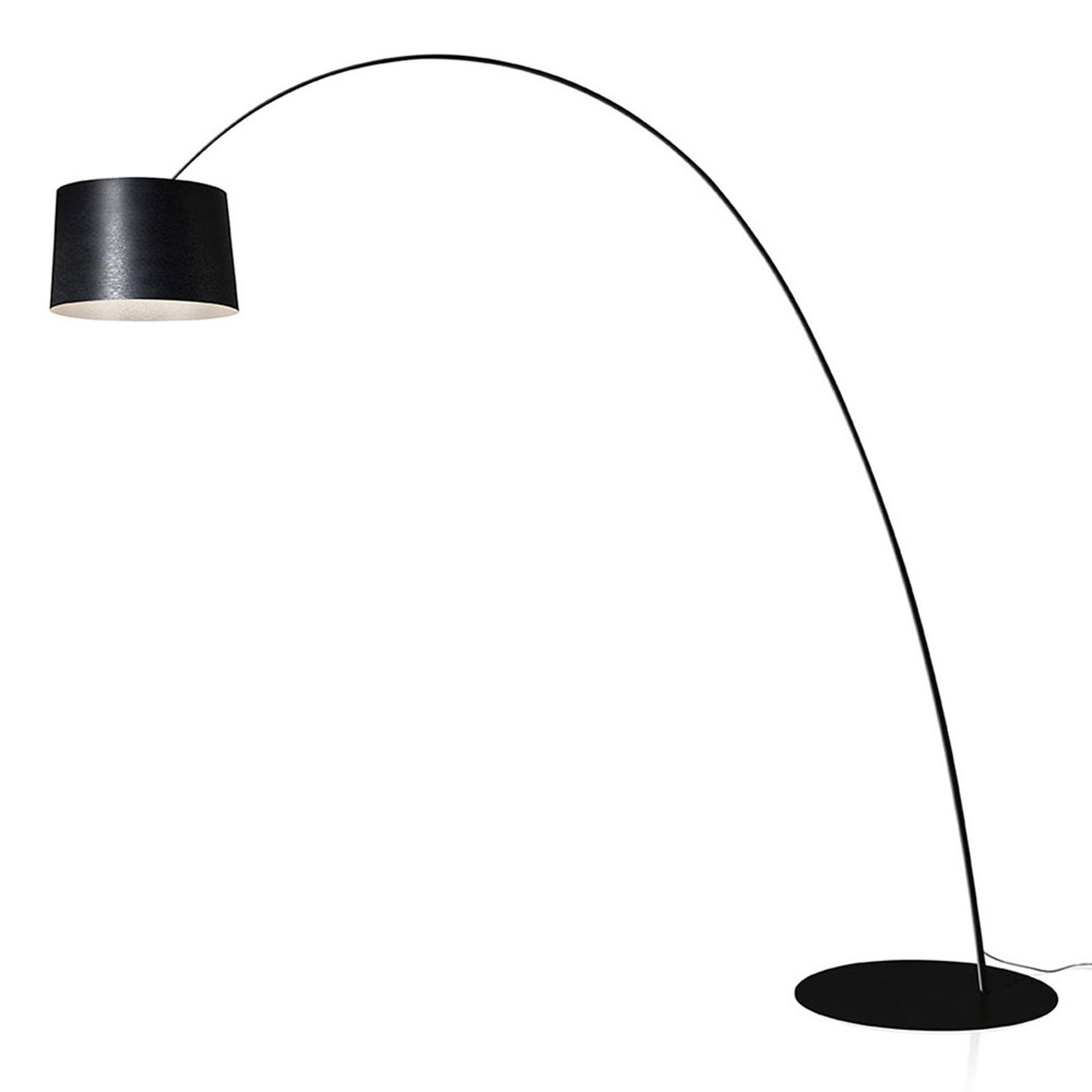 Foscarini Twiggy MyLight LED-golvlampa svart