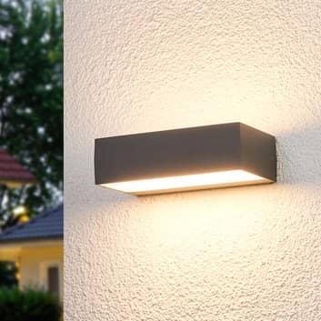 Lissi - LED-Außenwandlampe in eckiger Form