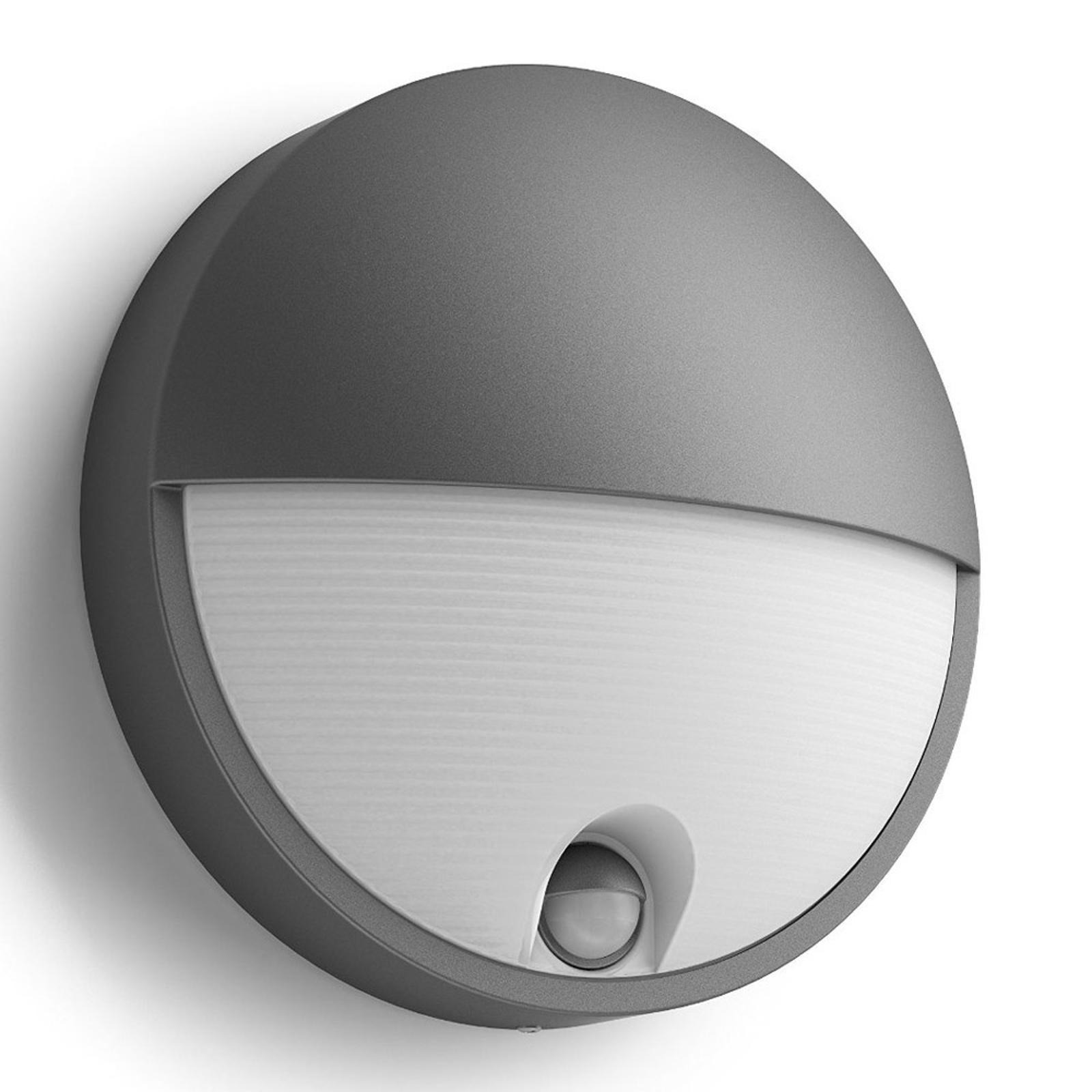 Capricorn - LED-utevegglys med bev.-sensor
