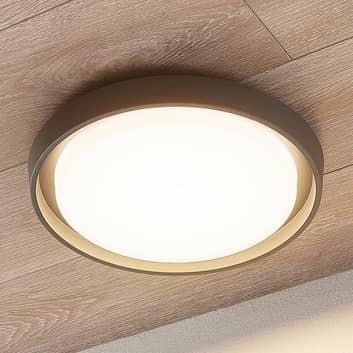 Plafonnier d'extérieur LED Birta, rond, 34cm
