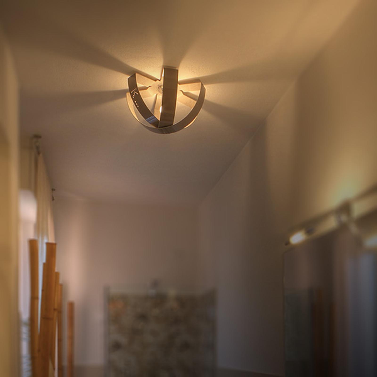 Forgylt vegg- og taklampe Ecliptika, 40cm