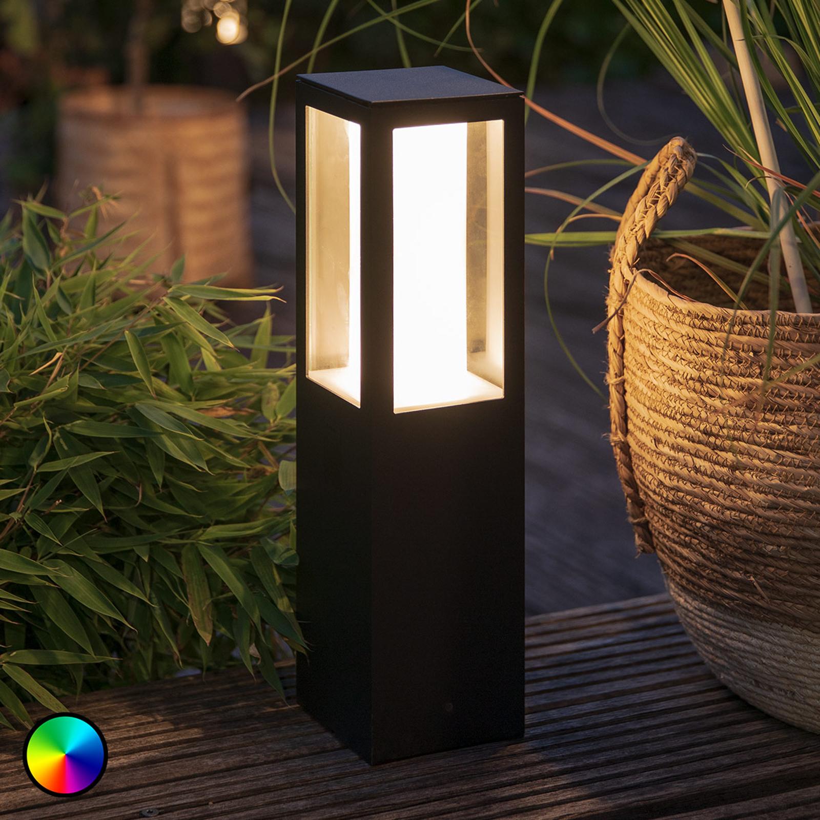 Philips Hue White+Color Impress LED-sockellampa