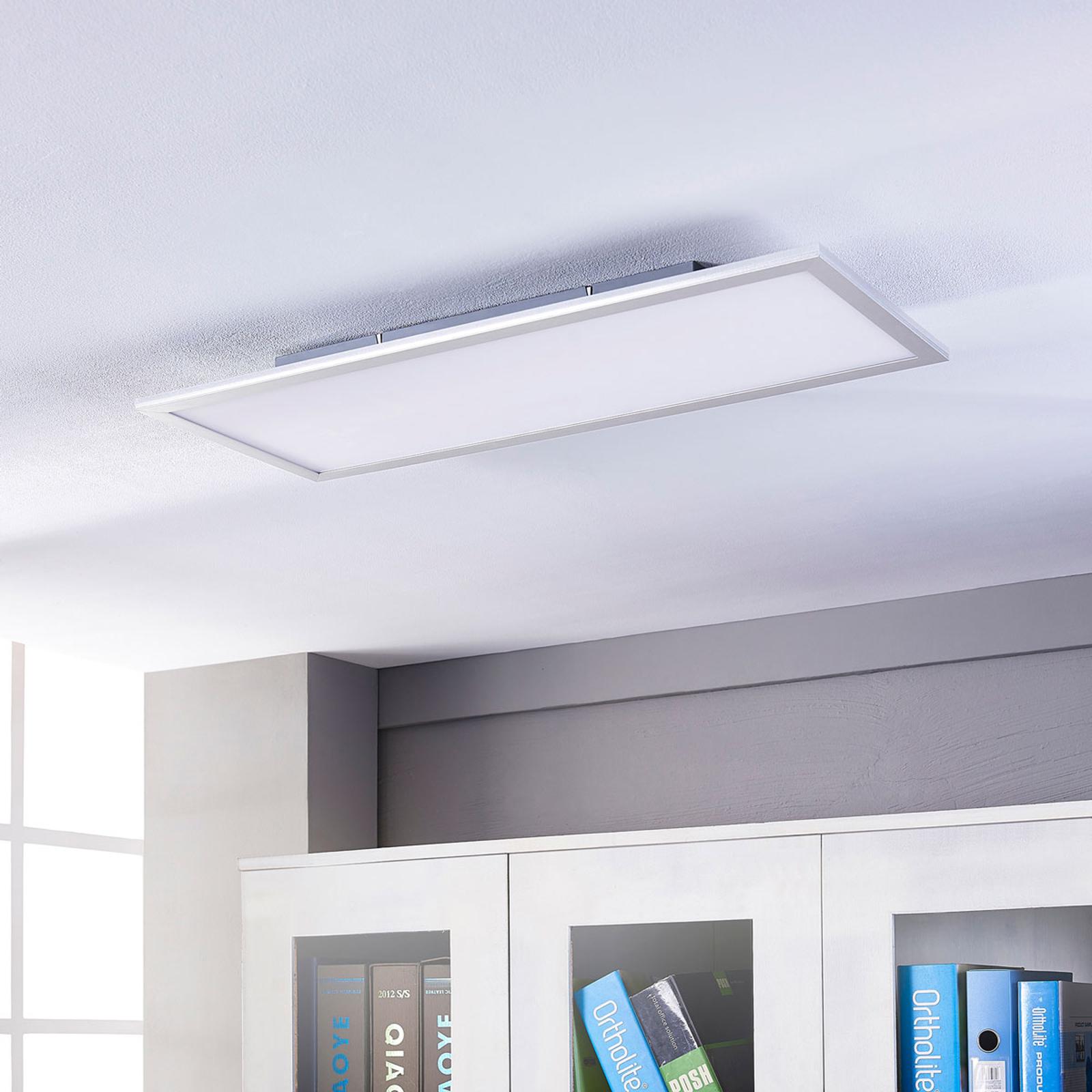 Lindby Livel LED-Panel, CCT, 80 cm x 30 cm