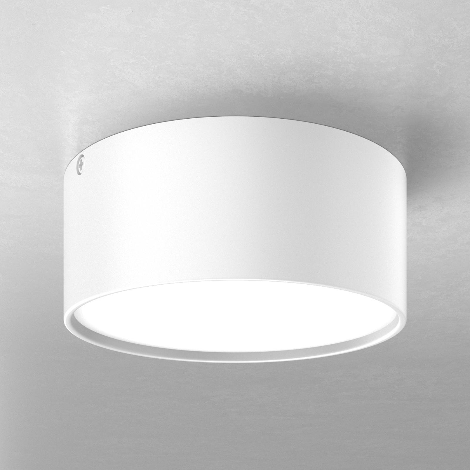 Mine – lampa sufitowa LED biała, 14cm