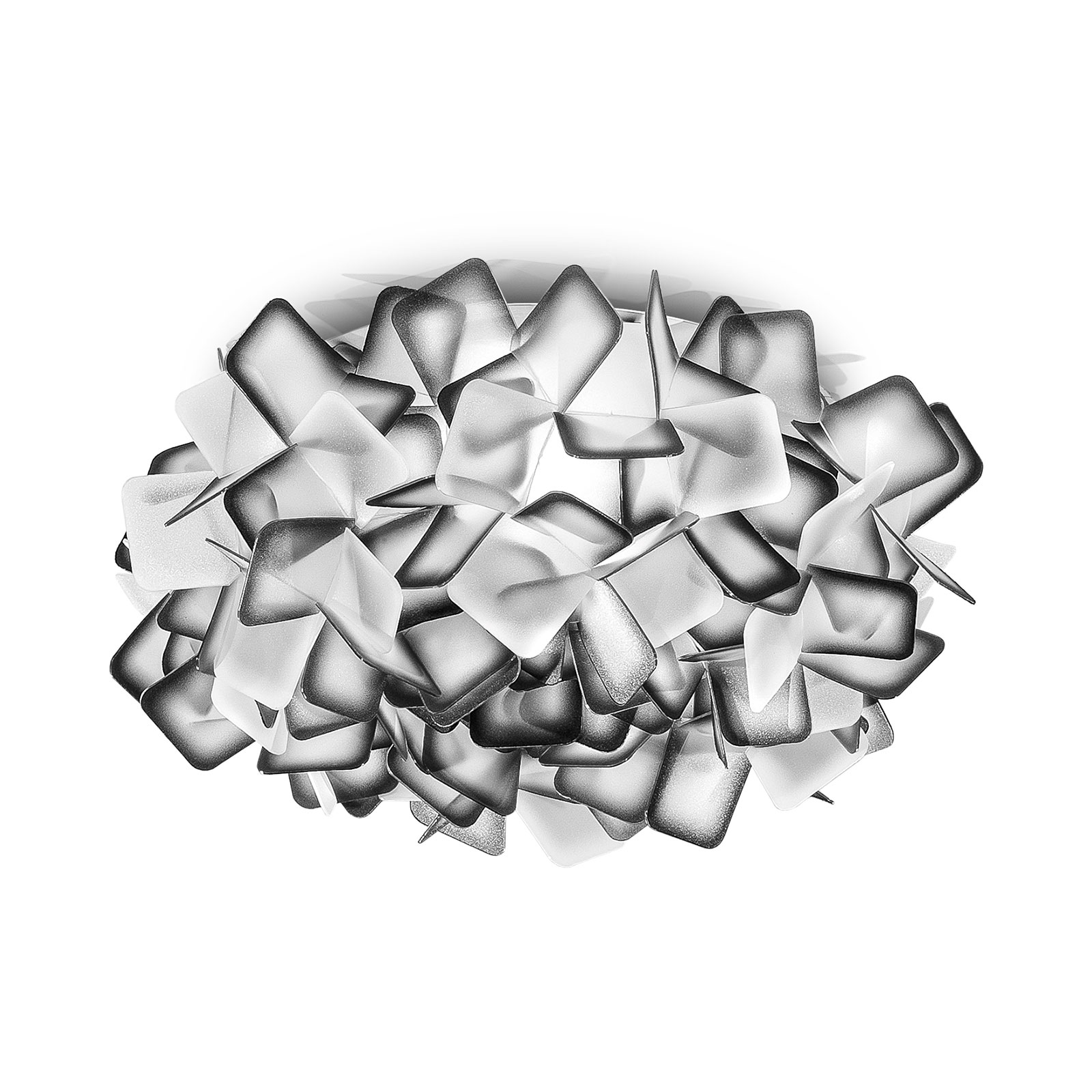 Slamp Clizia lampa sufitowa, Ø 32 cm, czarna