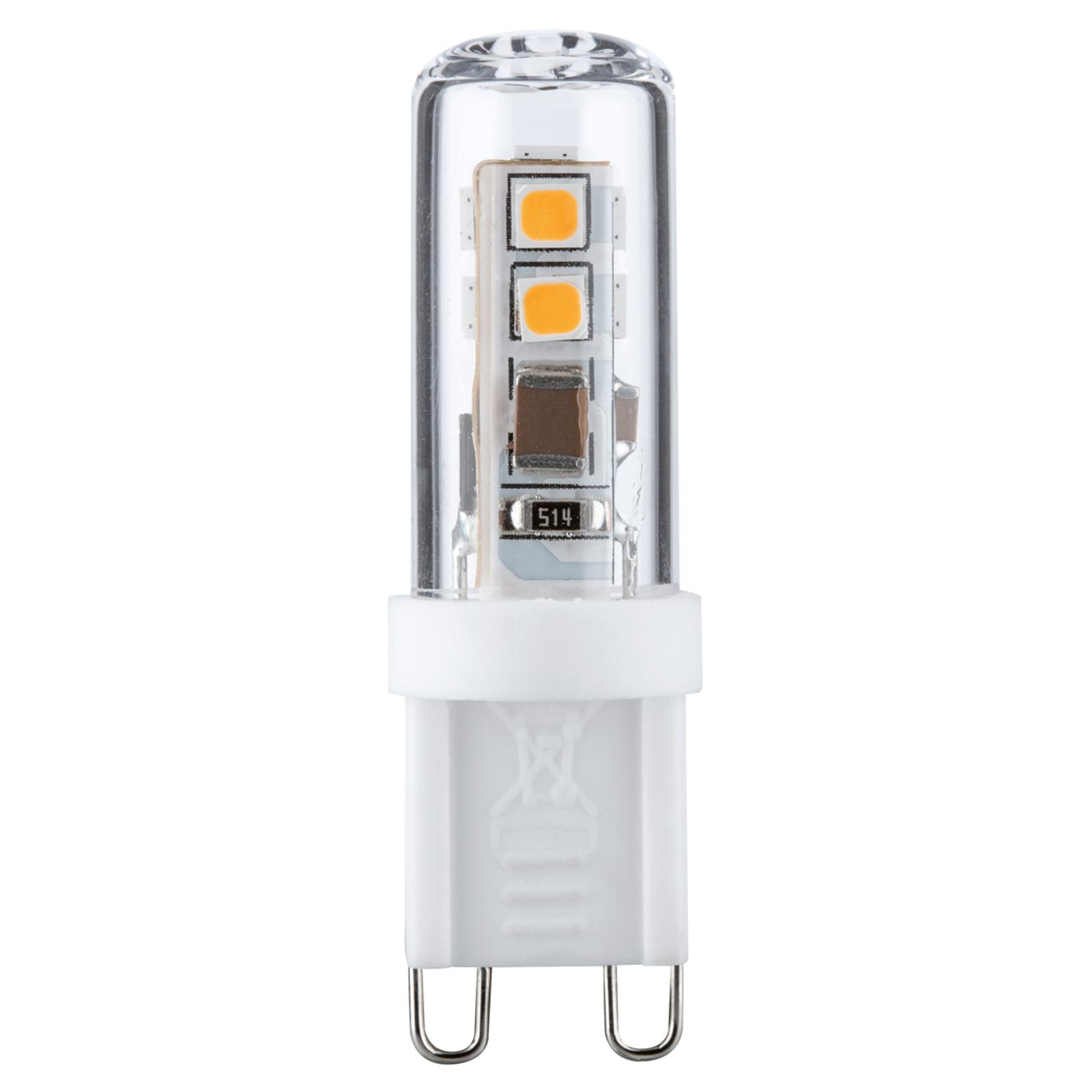 Ampoule LED à culot à ergots G9 2,2W 827