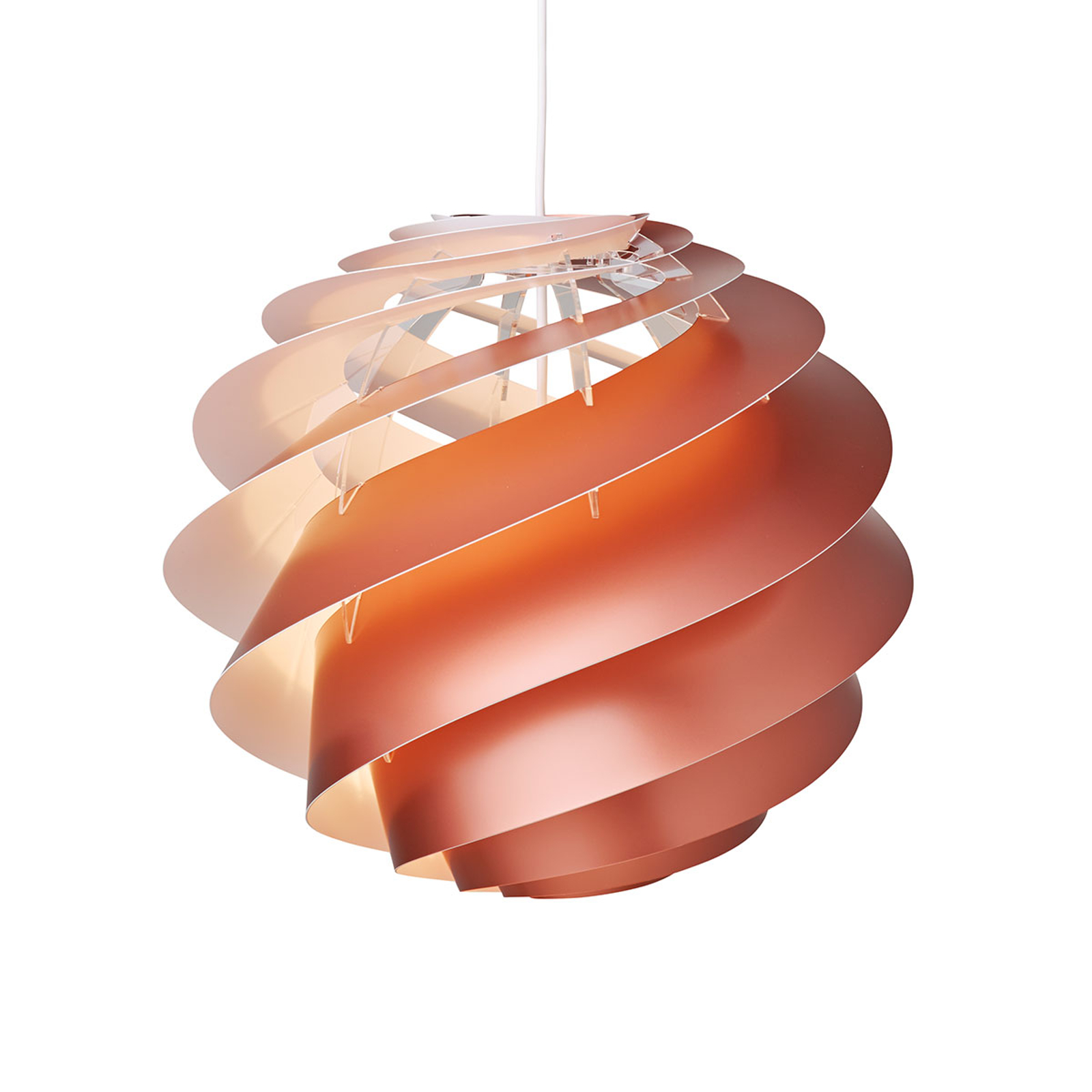 LE KLINT Swirl 3 Medium - suspension cuivrée