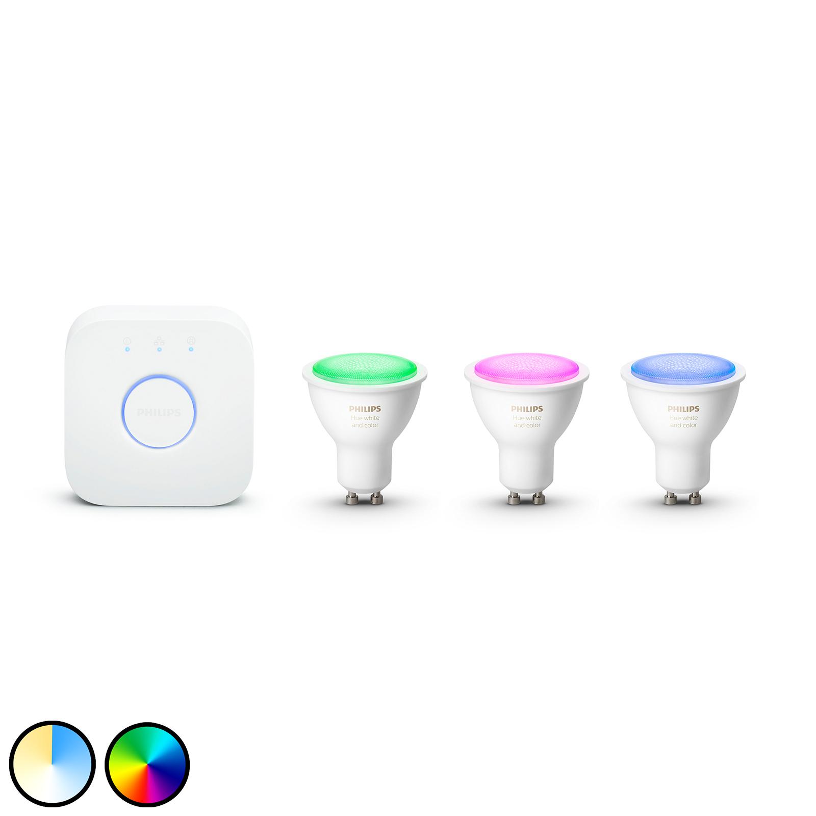 Philips Hue White & Color Ambiance GU10 LED
