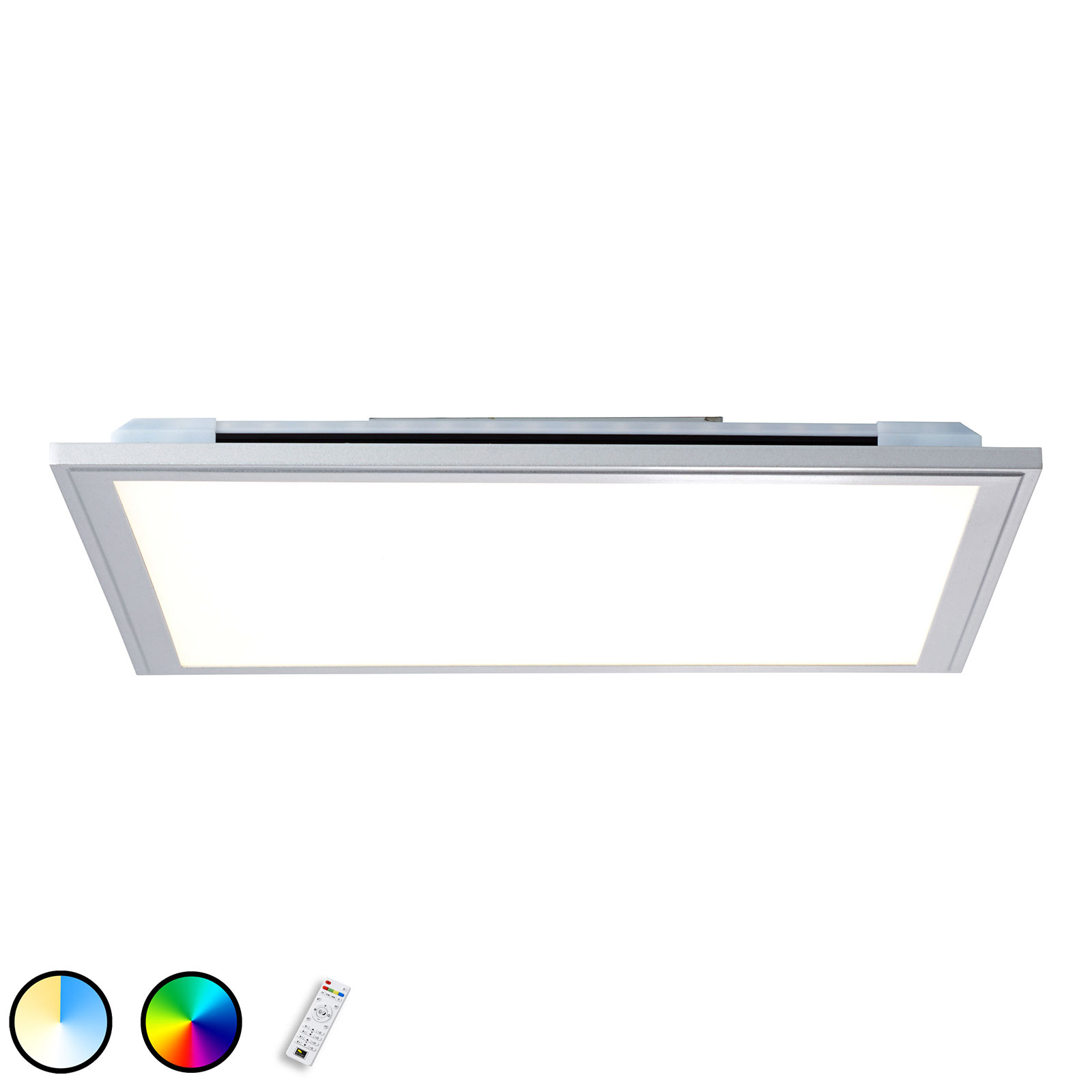 LED-taklampe Alissa, 59,5x59,5 cm
