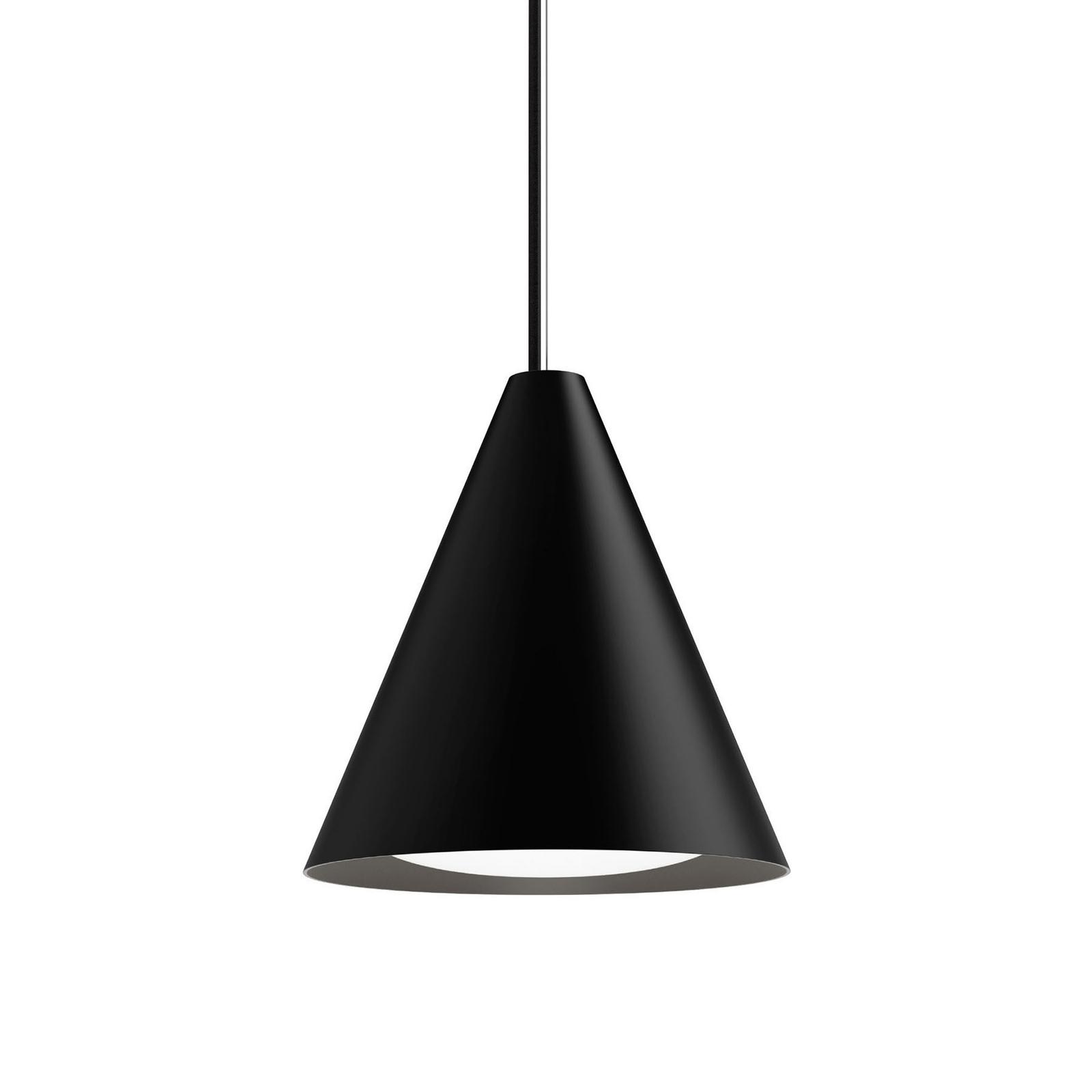 Louis Poulsen Keglen LED hanglamp 25cm zwart