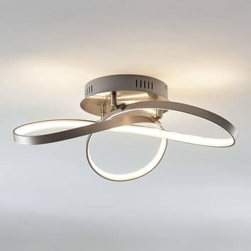 Modernt formad LED-taklampa Saliha