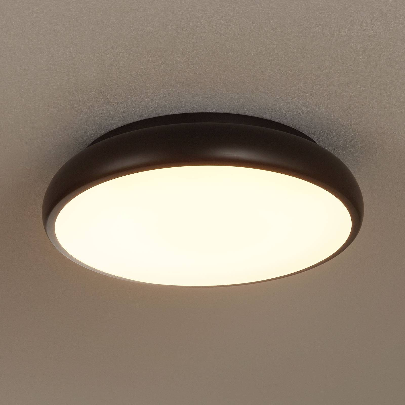 EGLO connect Riodeva-C LED-Deckenleuchte schwarz