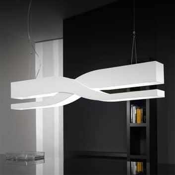 Fifi - bílé designové závěsné světlo, 60 cm