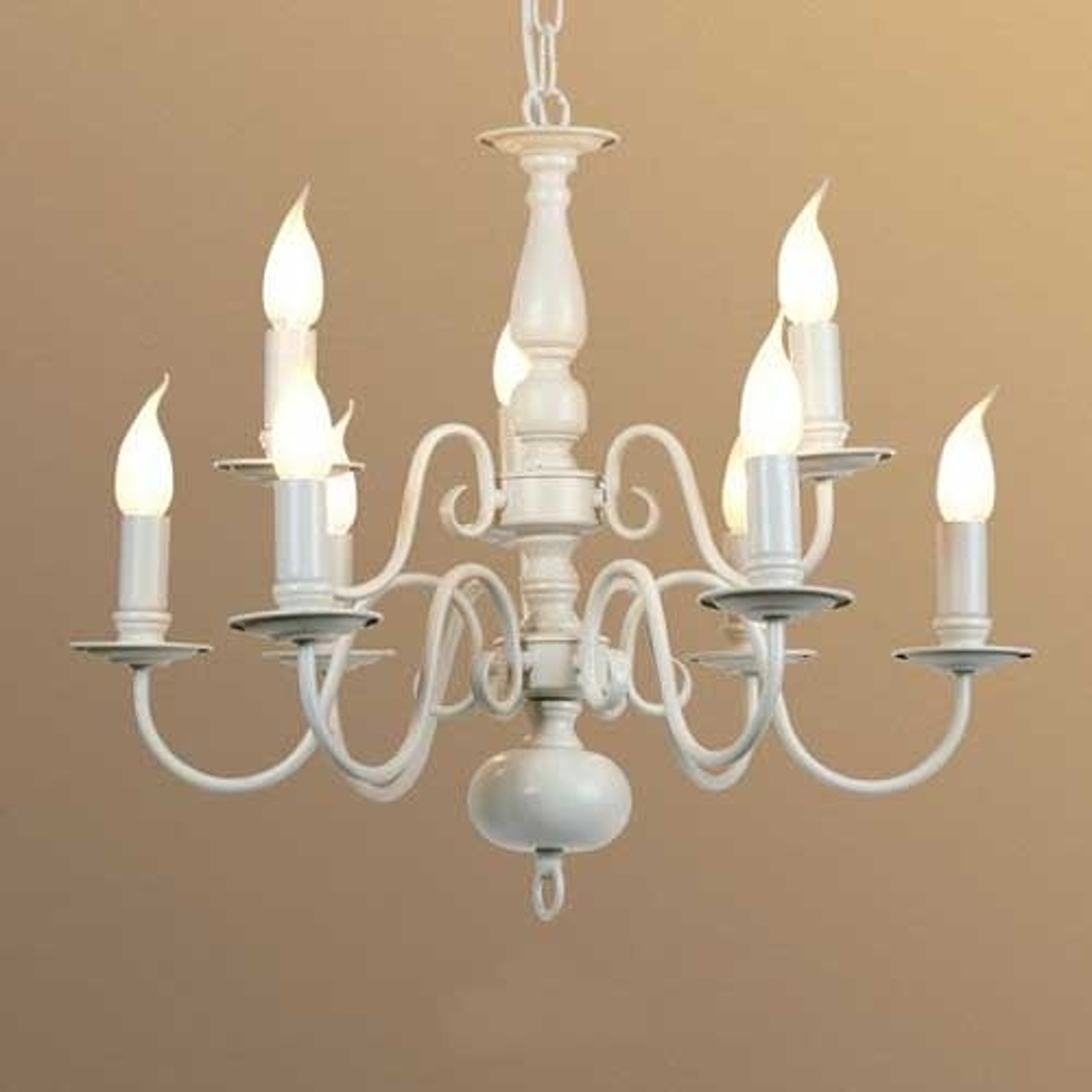 9-bulb MAYRA chandelier  in a country house style_1032221_1