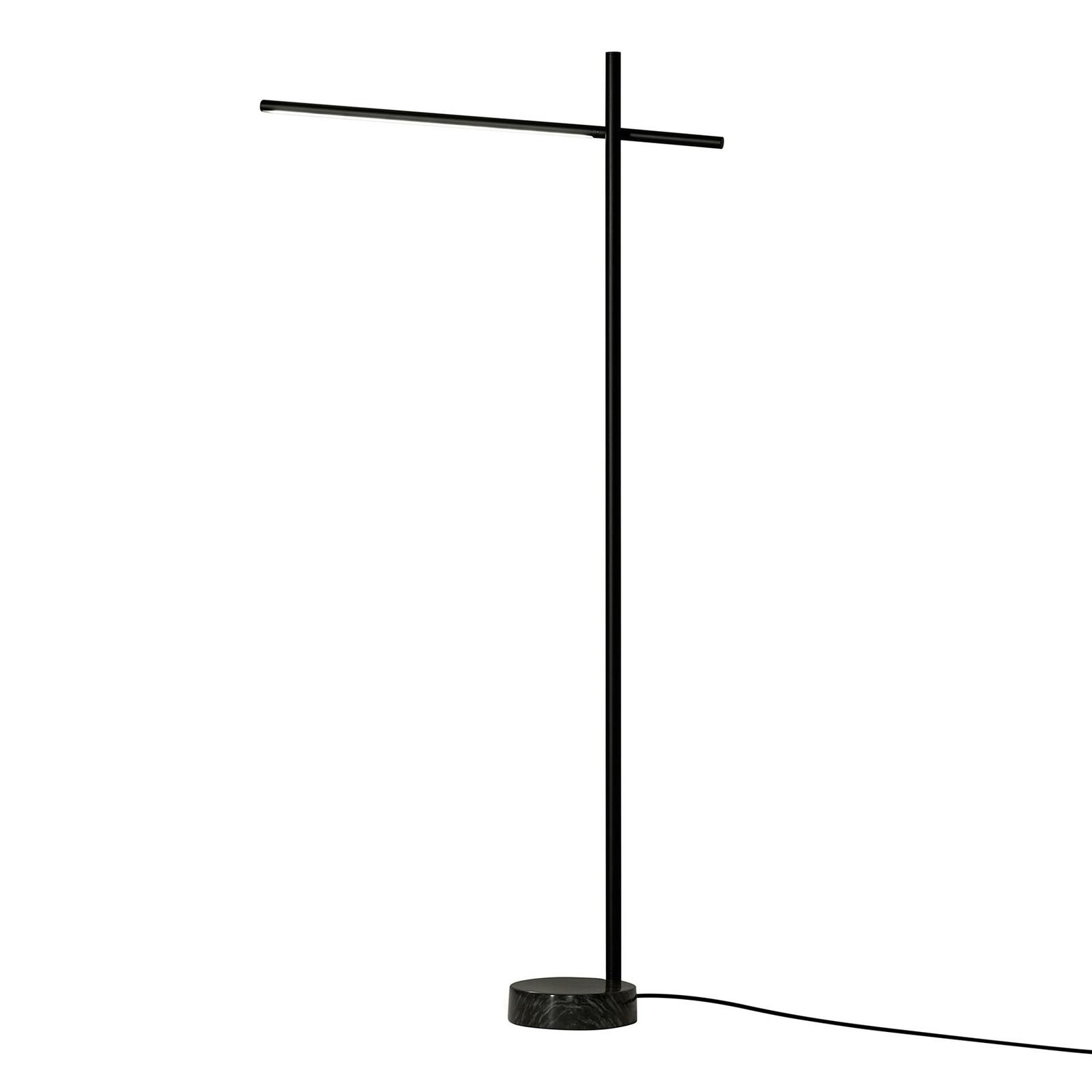 Grok Tubs LED-gulvlampe med touchdæmper