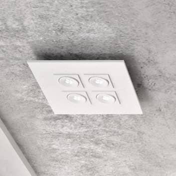 Milan Marc - plafón LED, 4 luces, giratorio