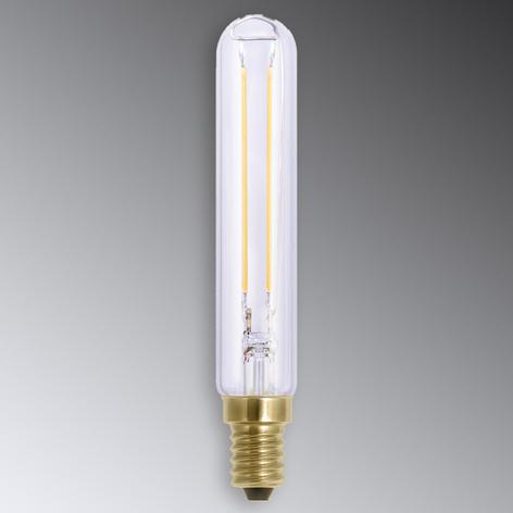 E14 2,7W LED-stearinljuslampa i koltrådsoptik