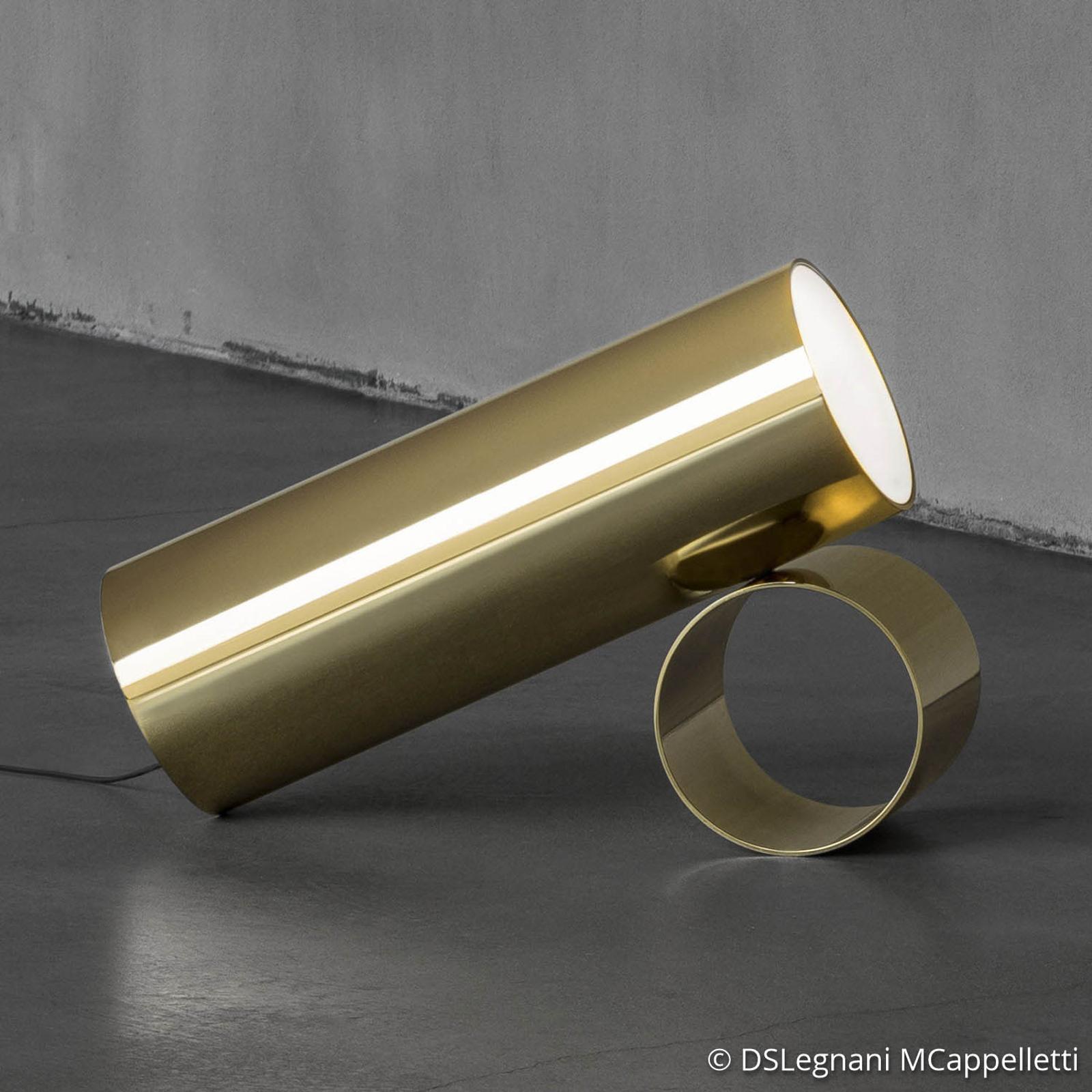 FLOS Sawaru LED-Tischleuchte, verstellbar gold