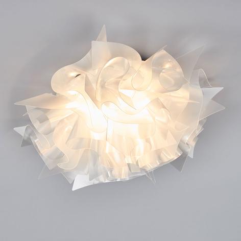 Slamp Veli Prisma -design-kattovalo, Ø 53 cm