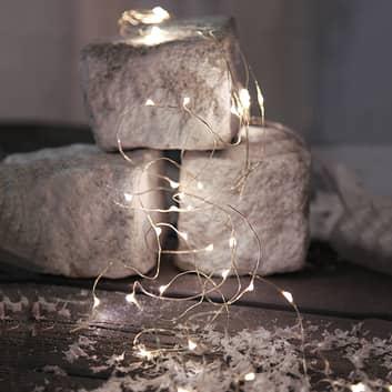 Batteridrevet LED-lysbuket dugdråber