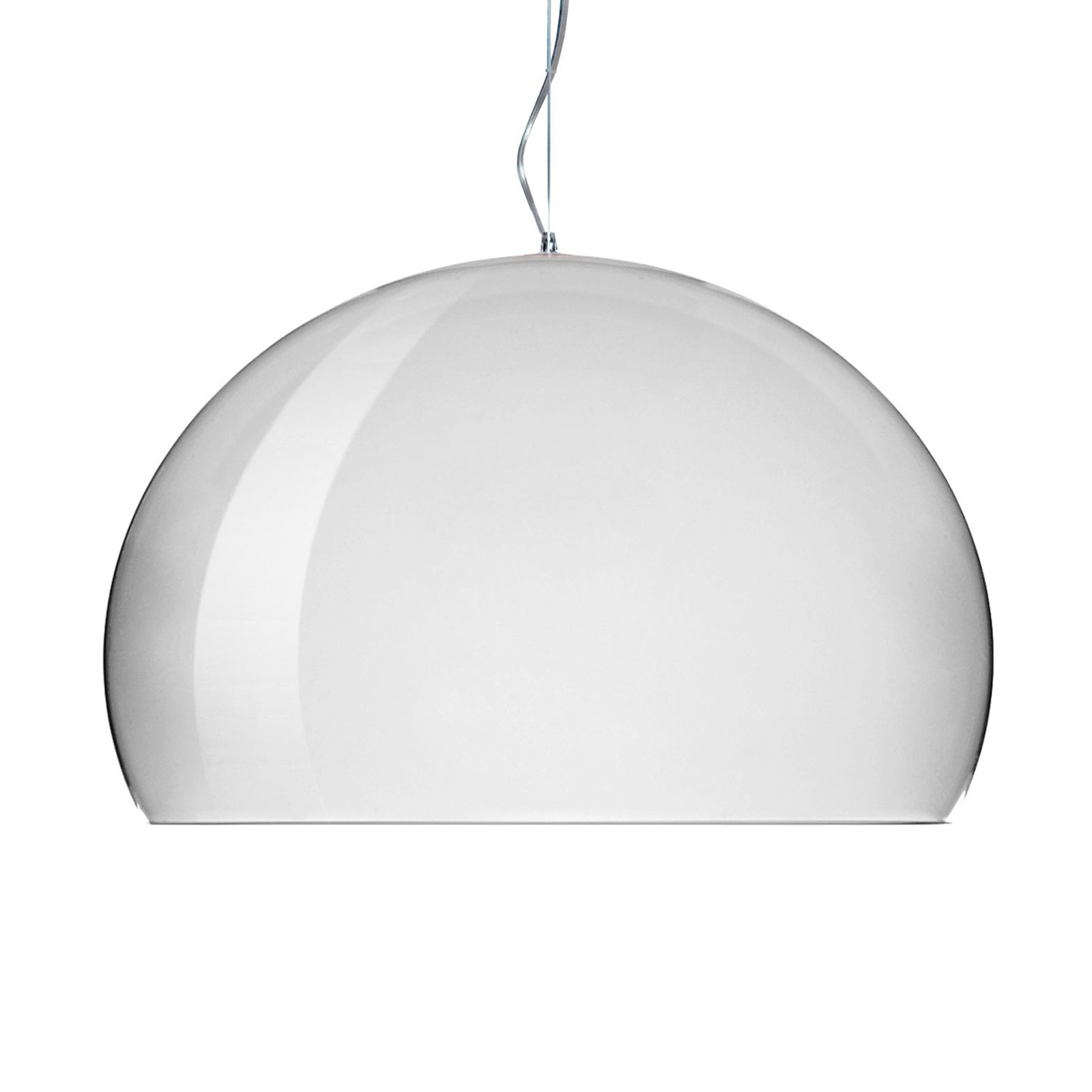 Kartell FL/Y - LED-Pendellampe, chrom glänzend