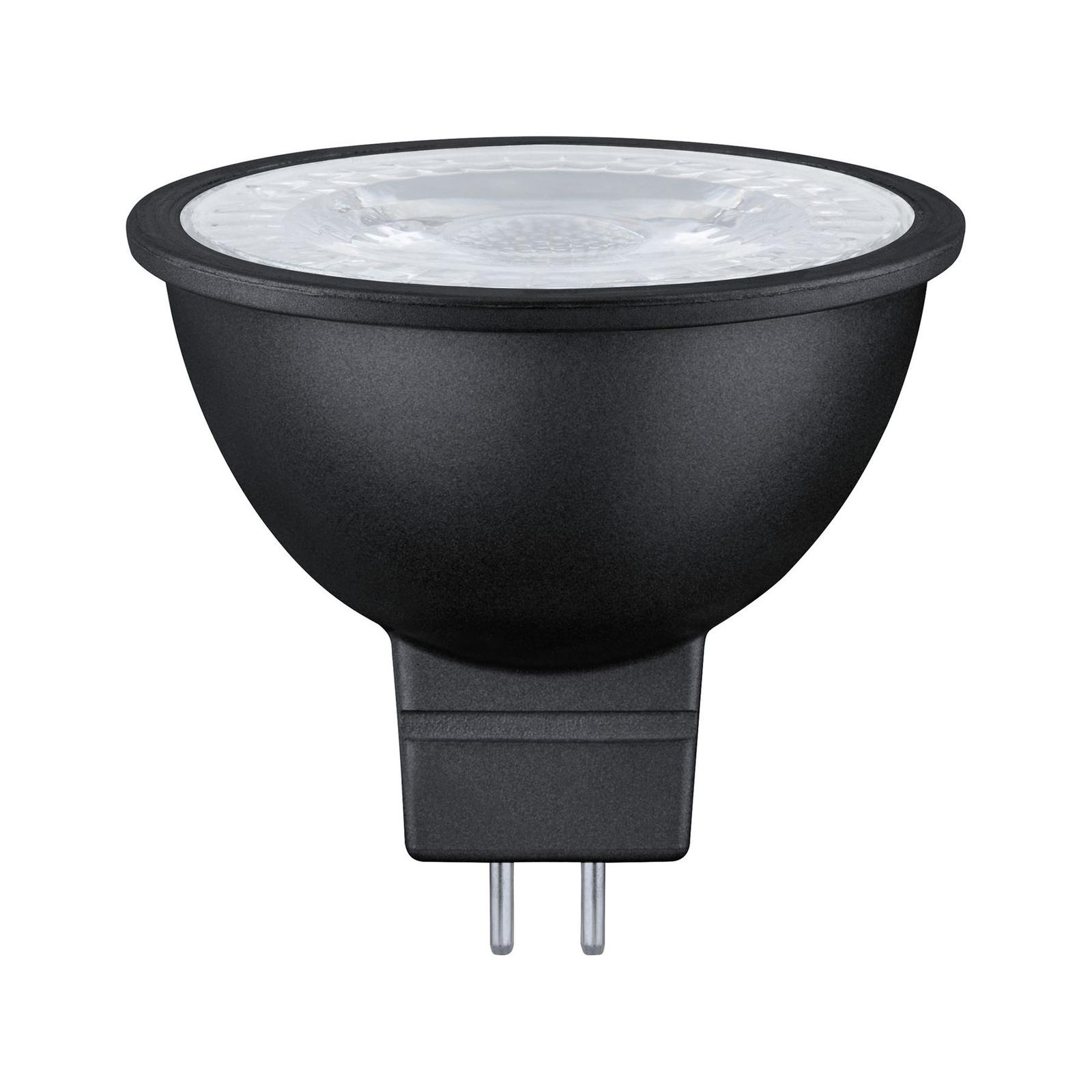 Paulmann LED-reflektor GU5,3 6,5W, 827 dim svart