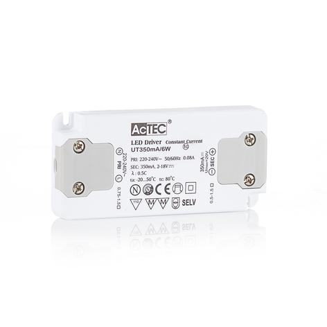 AcTEC Slim transformador LED CC 350mA, 6W