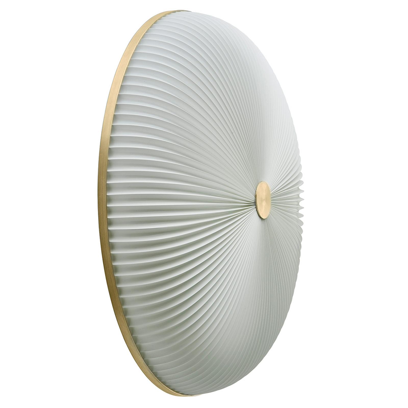 LE KLINT Lamella wandlamp goudkleurig 50 cm