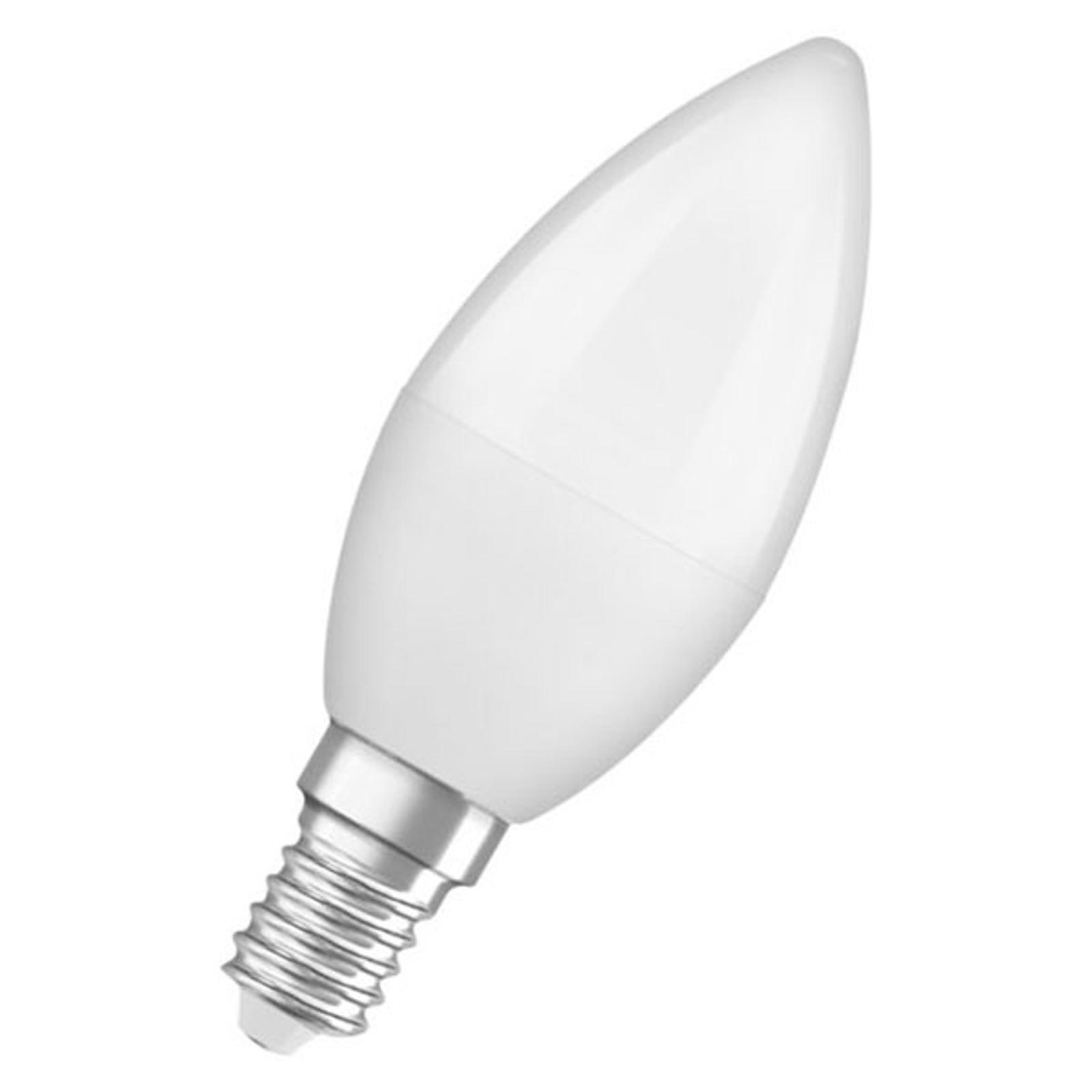 OSRAM Classic B LED-Lampe E14 5,5W 2.700K matt