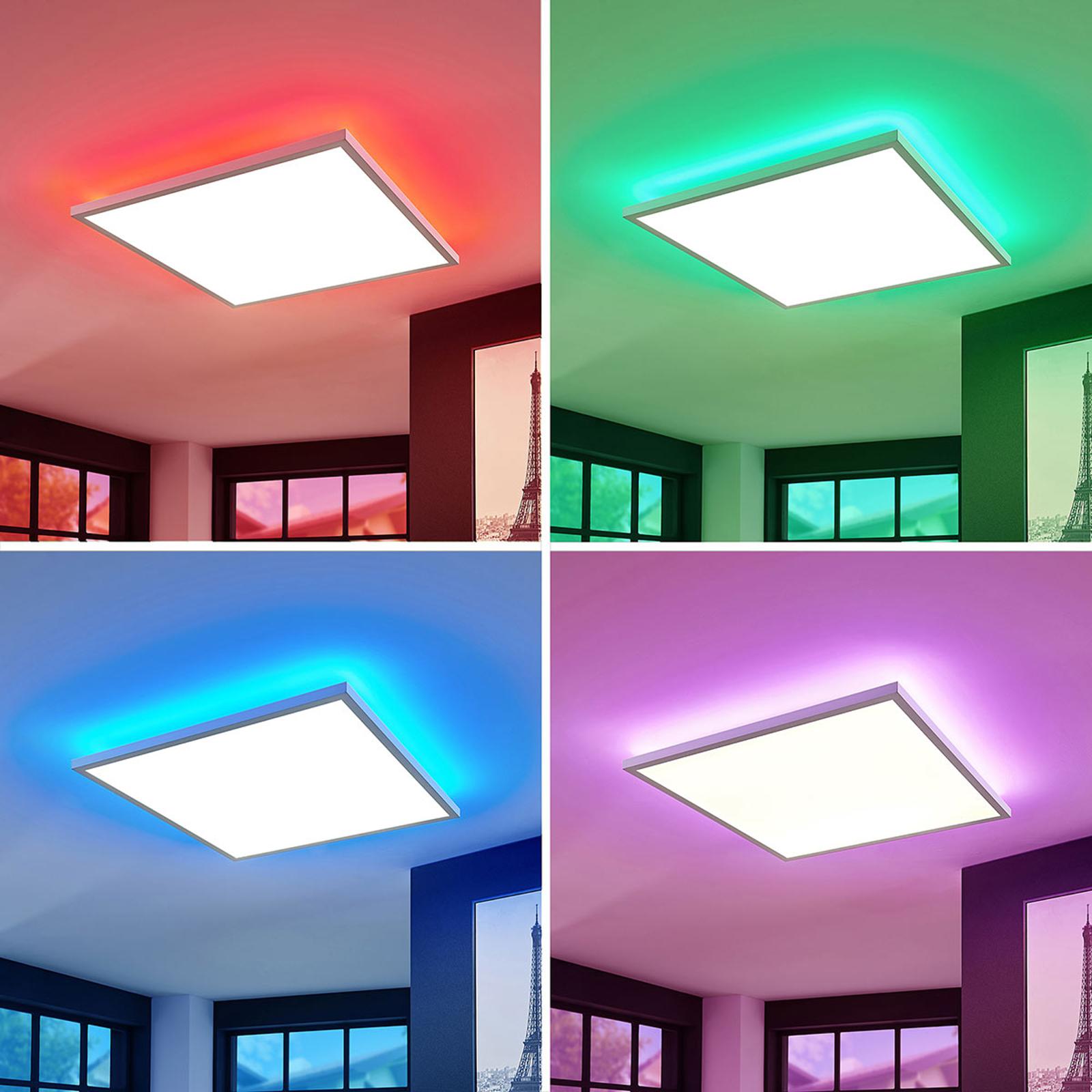 LED-Panel Brenda CCT mit Fernbedienung, 60 x 60cm