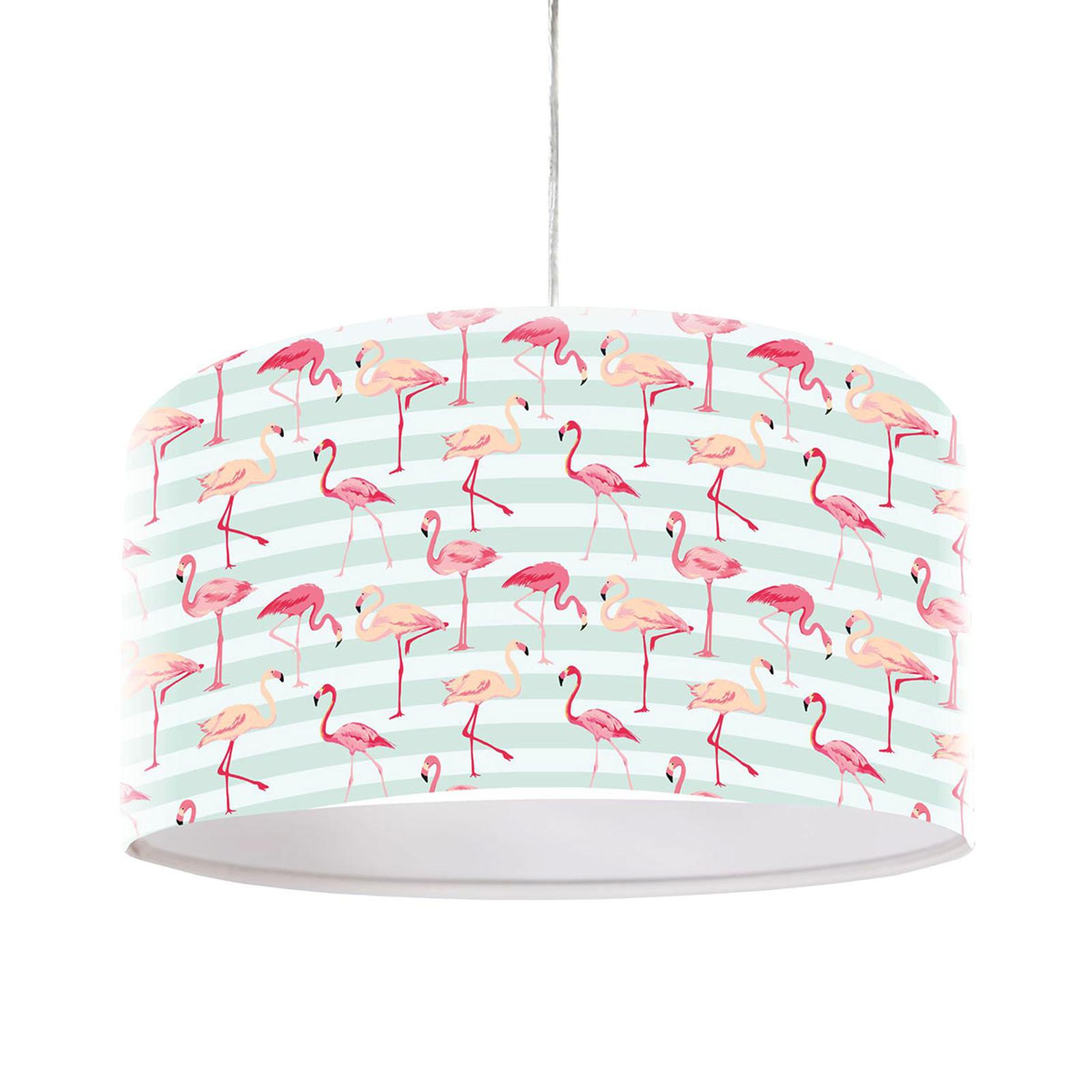 Lampa wisząca Miami z motywem flaminga