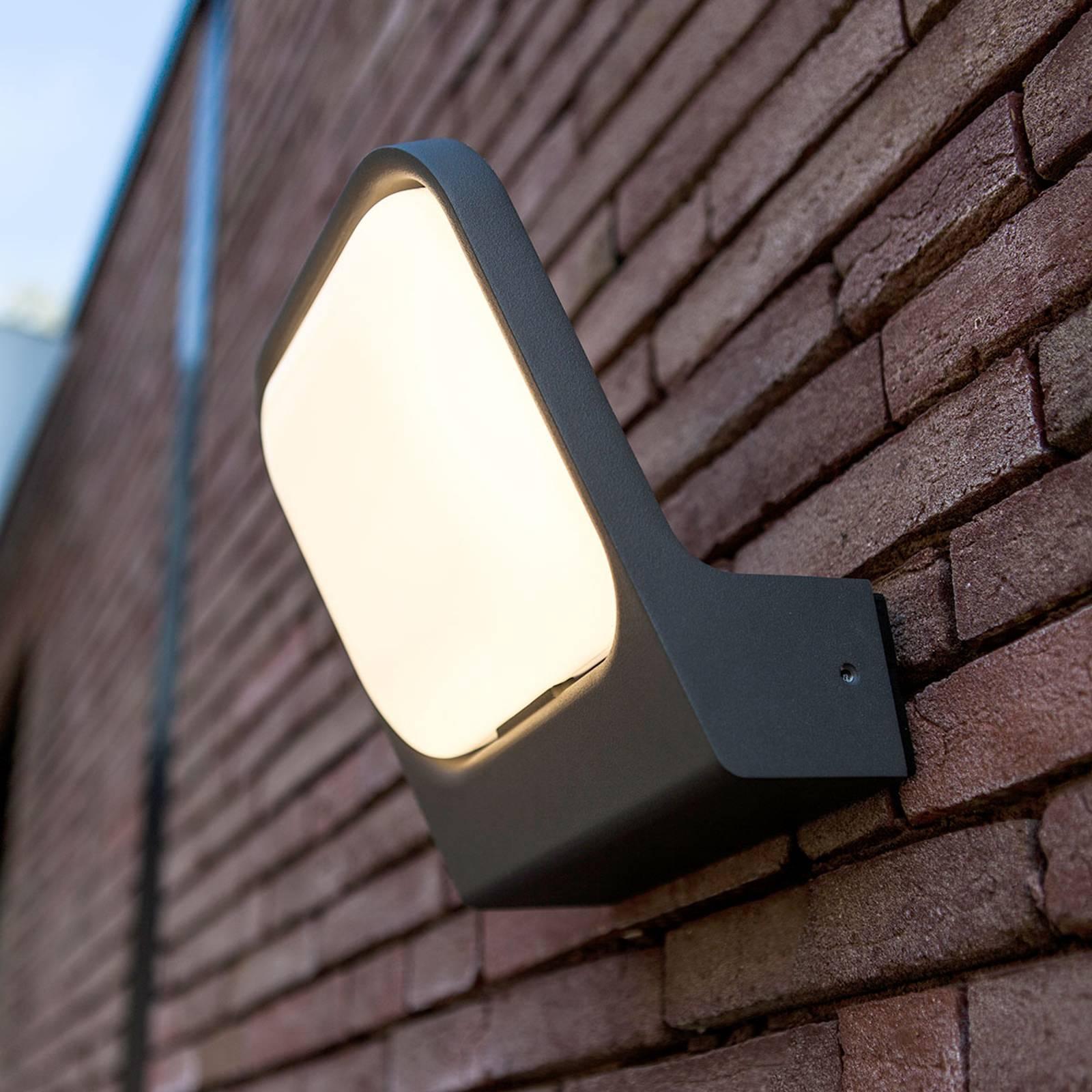Ver stralende LED wandlamp Facia