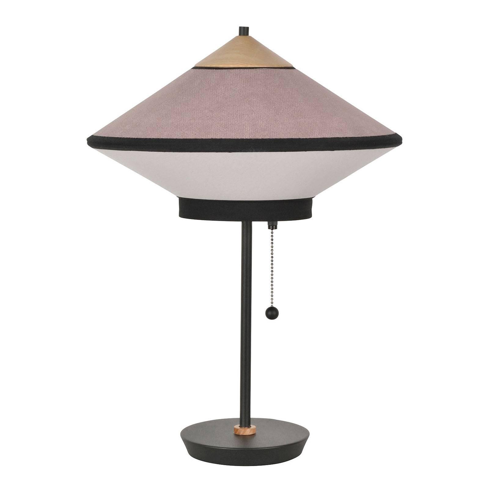 Forestier Cymbal S tafellamp, poederroze