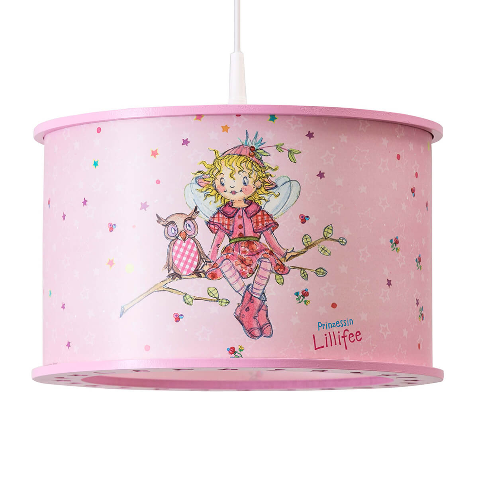 Dziecięca lampa wisząca Księżniczka Lillifee