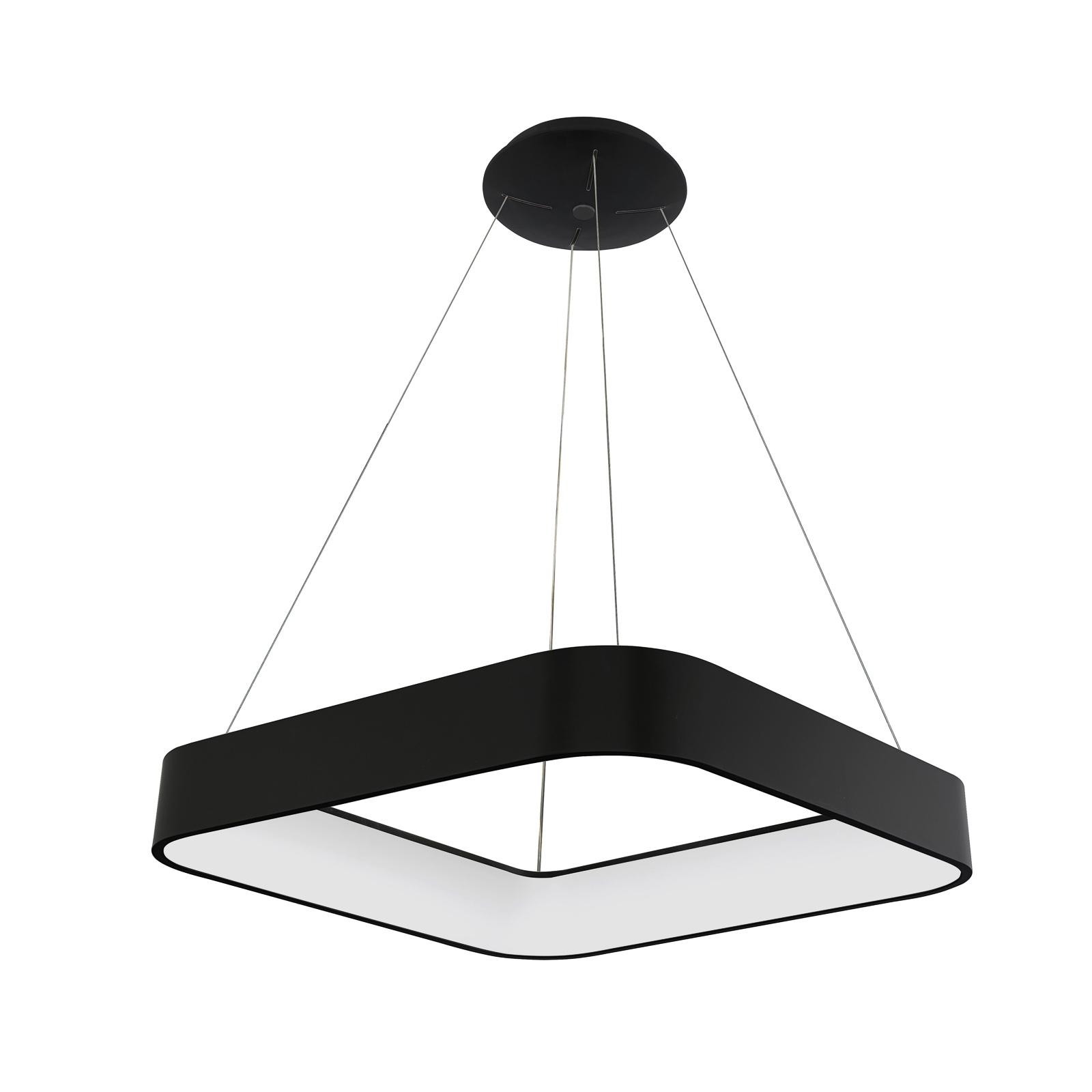 Arcchio Aleksi LED-hængelampe, 45 cm, kantet