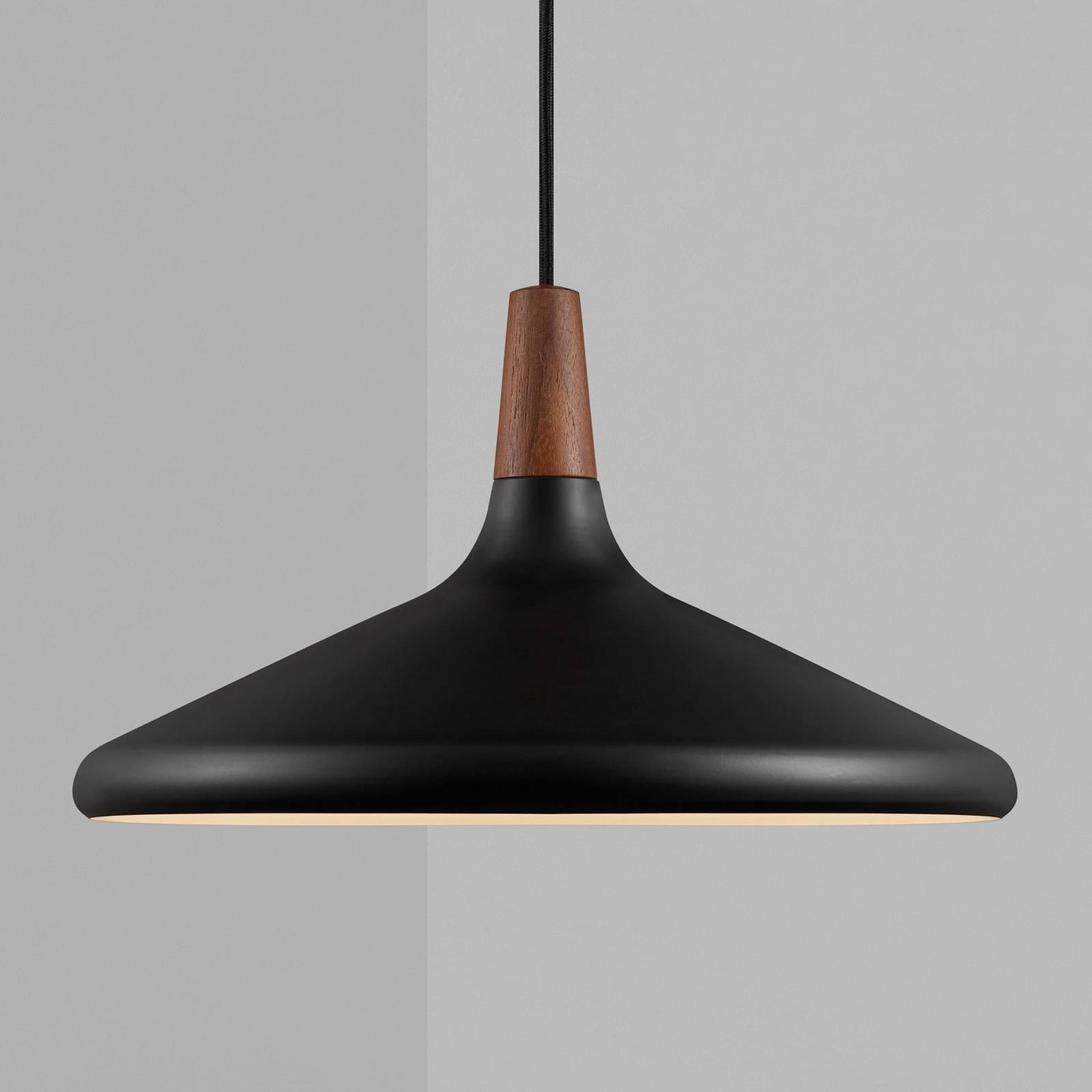 Hängeleuchte Nori Ø 39 cm, schwarz
