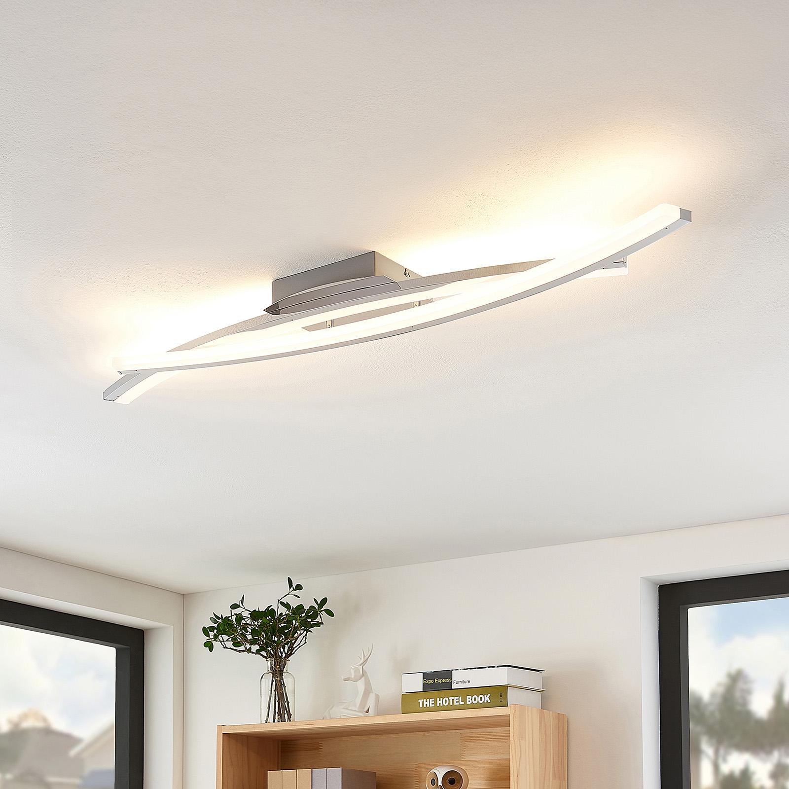 Lindby Elarit LED-Deckenleuchte, verchromt