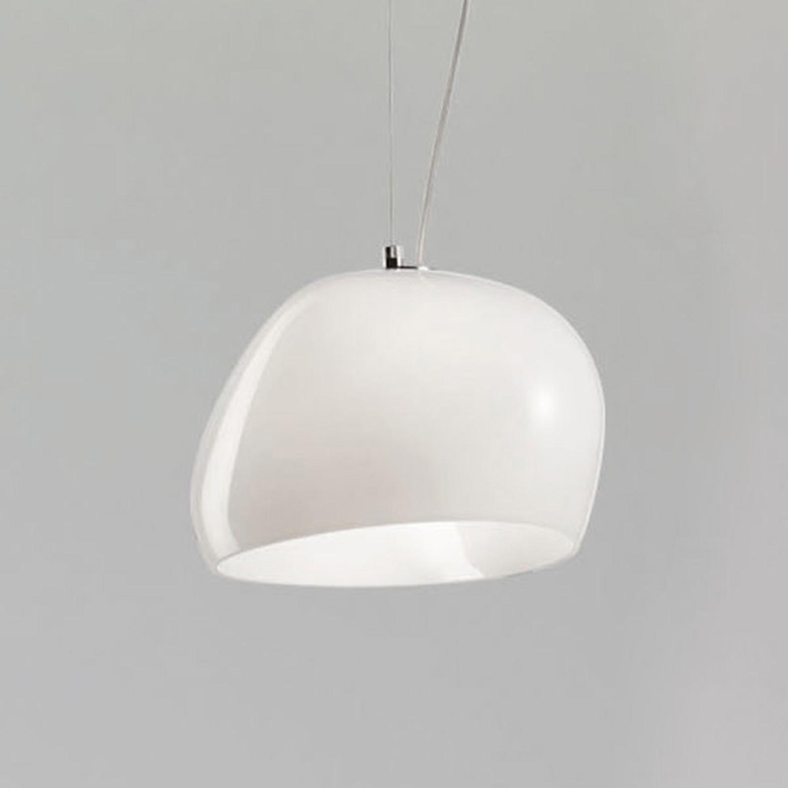 Hengelampe Surface Ø 27 cm, E27, hvit/matthvit