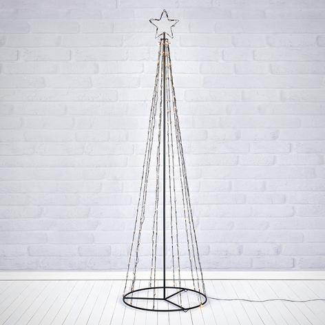 Albero di Natale per esterni Torn con 250 LED