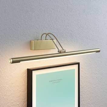 Oświetlenie obrazów LED Mailine, mosiądz