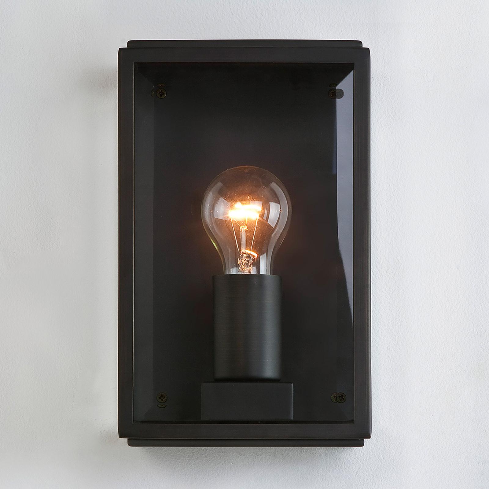 Decoratieve buiten-wandlamp HOMEFIELD SQUARE, zw