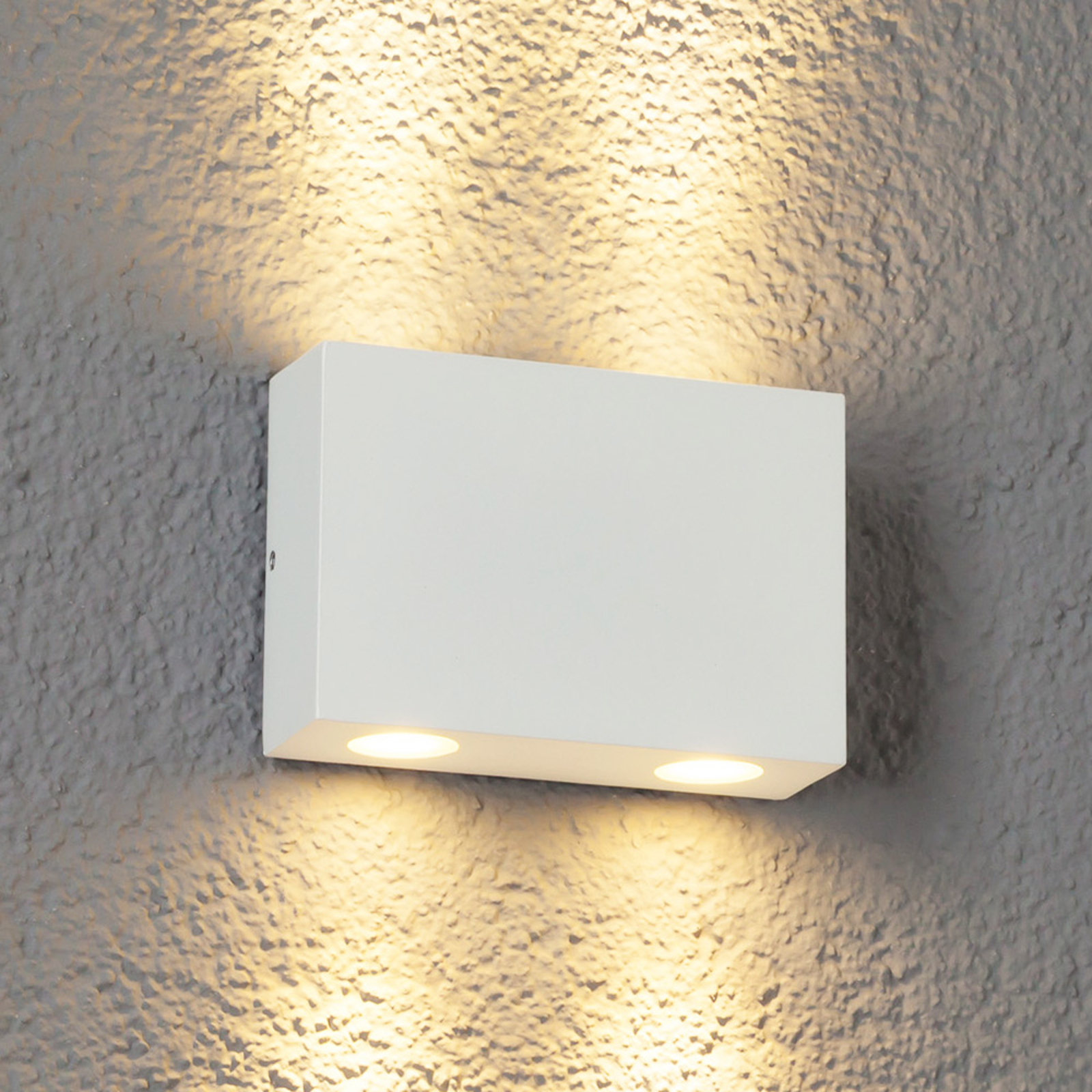 ApliqueLED exterioresHenor blanco 4 puntos luz