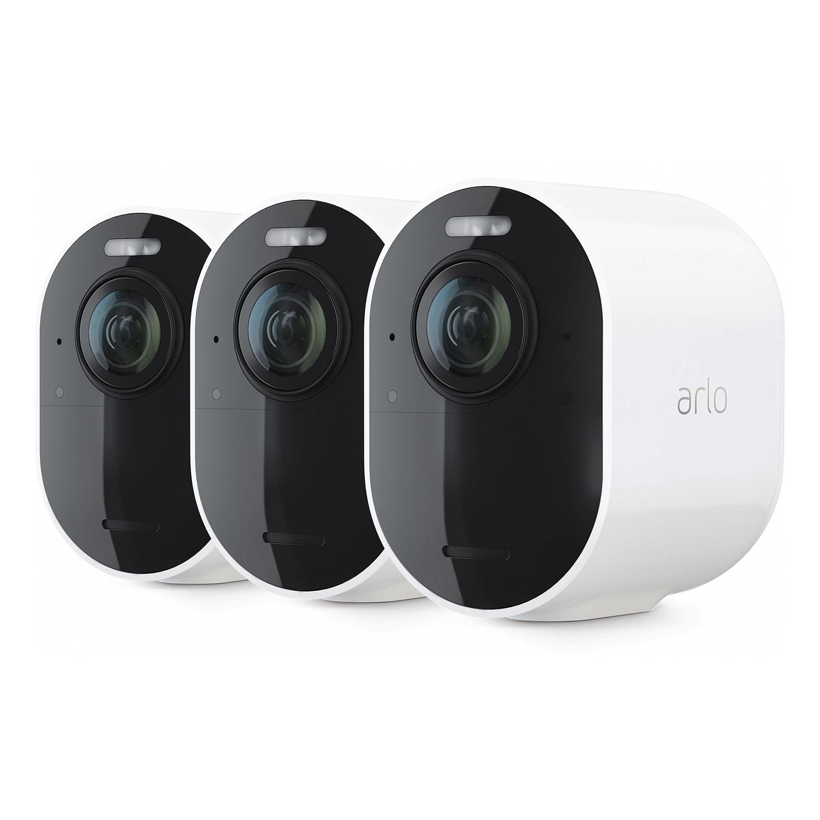 Arlo Ultra 2 Sicherheitssystem mit 3 Außenkameras