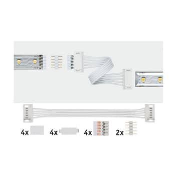 Paulmann MaxLED Universal-Verbinder, 2er-Pack weiß