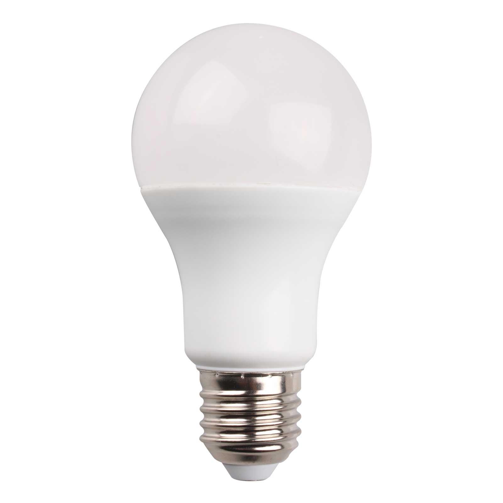 Lightme LED-Lampe E27 9W, RGBW, 810 Lumen, dimmbar