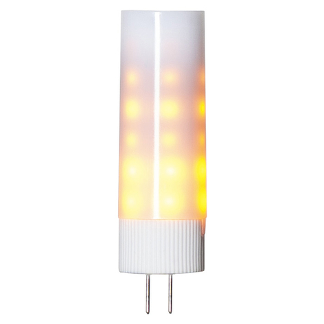 LED-stiftlampa G4 1 200 K flame