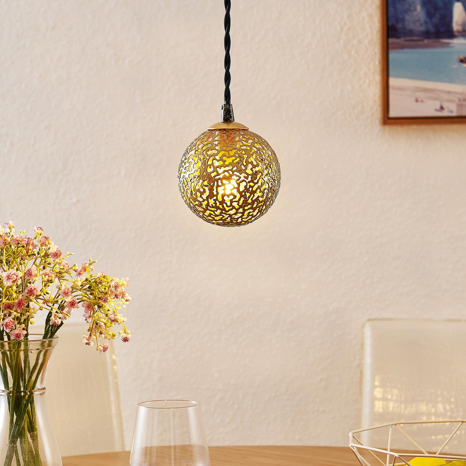 Lucande Zale suspension, orientale, à 1 lampe