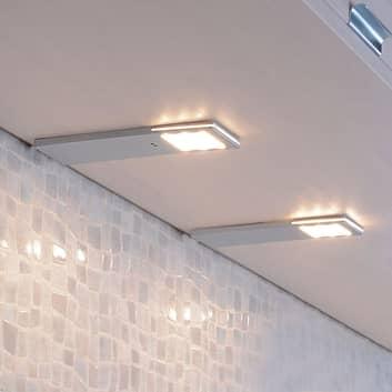 Lampe sous meuble capteur LED Helena 6,6cm lot 2