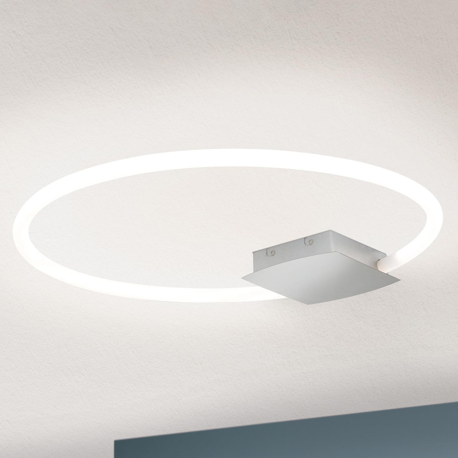 Lampa sufitowa LED Karlsson pierścień, 60 cm
