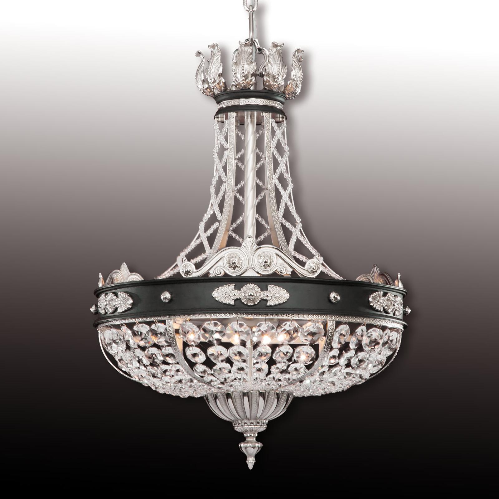 Wytworna kryształowa lampa wisząca HENRY